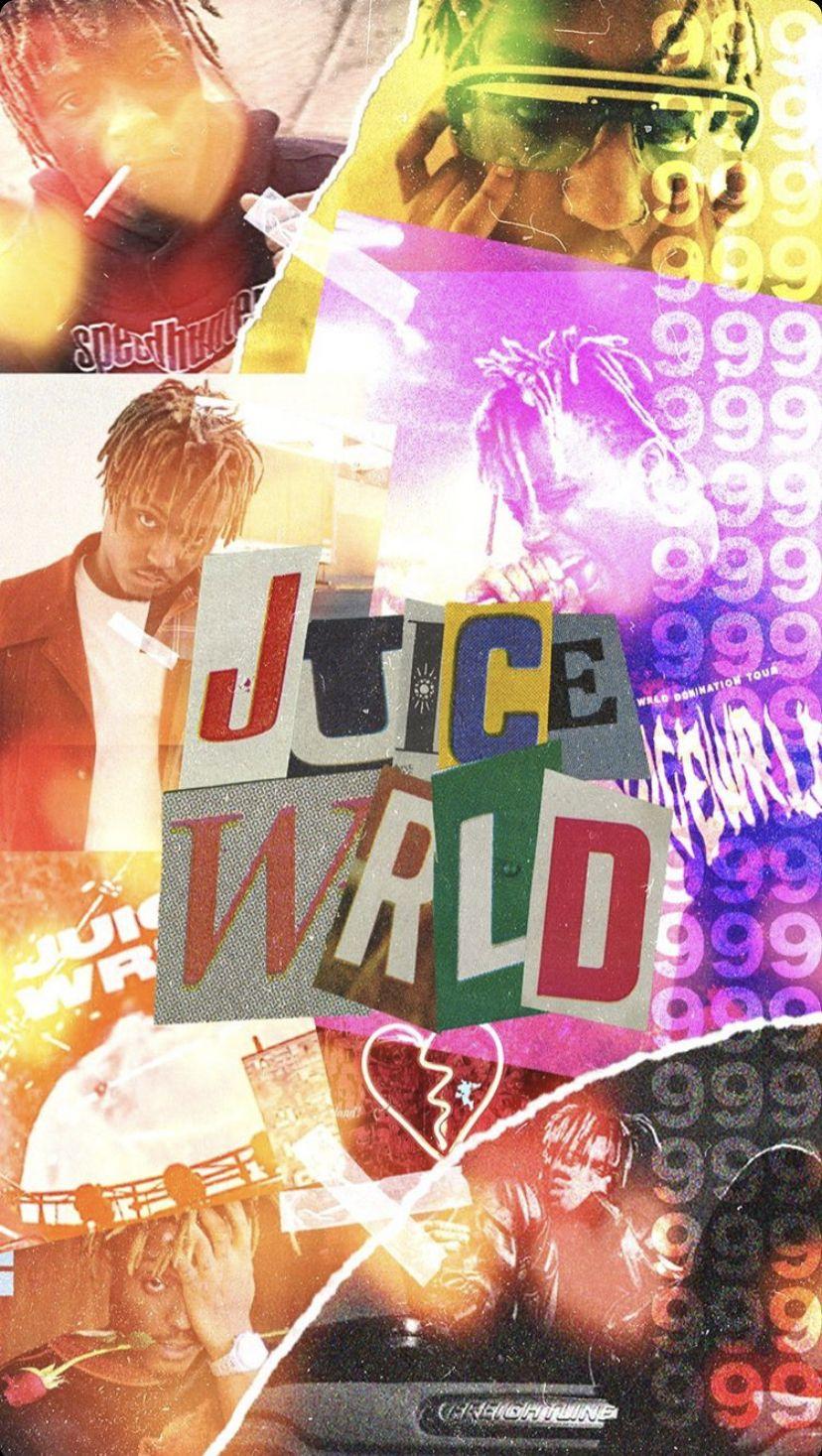 juice wrld background