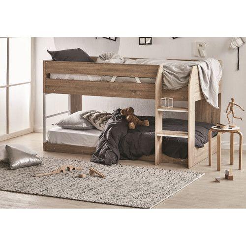 Oak Grace Low Line Single Bunk Bed Single Bunk Bed Bunk Beds Low Bunk Beds