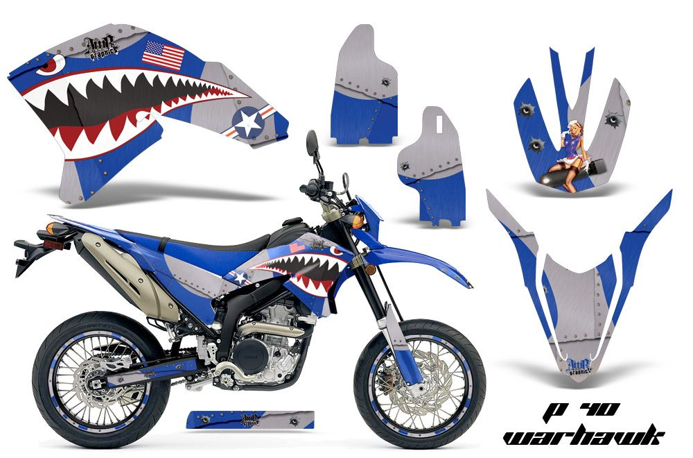 Amr Racing Dirt Bike Background Graphic Wrap Kit Yamaha Wr 250 X R