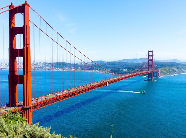 25 top landmarks in the world for 2018 golden gate