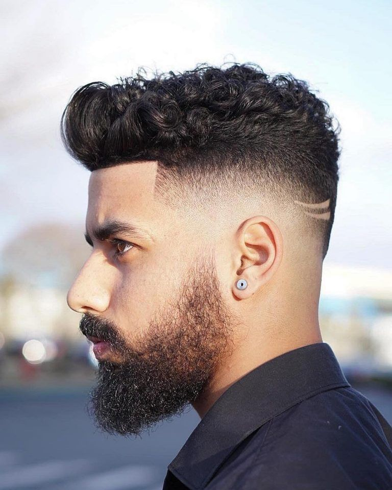 Fade Haircut Styles Every Type Of Fade Your Barber Can Give You Fade Haircut High Fade Haircut Curly Hair Fade