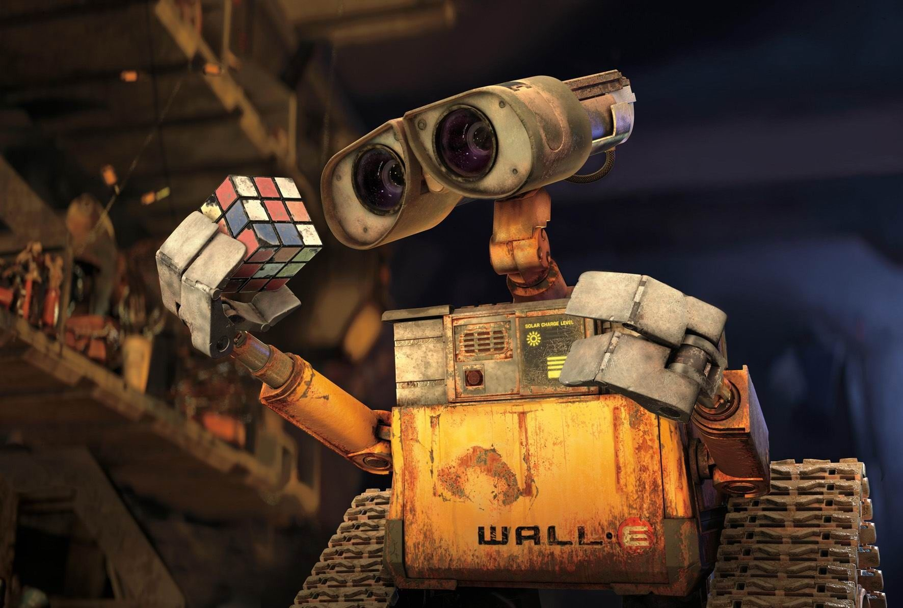 Check out Wall-e from 15 Best Pixar Characters