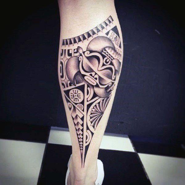 60 Tribal Leg Tattoos For Men