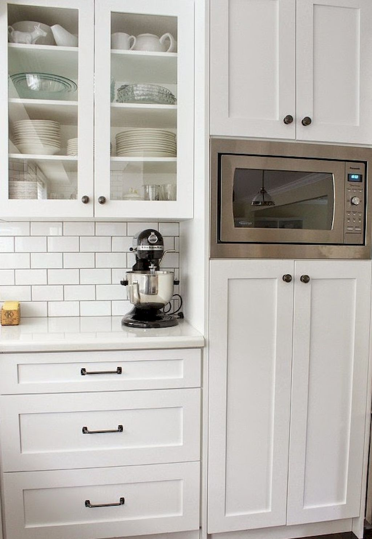 70 White Kitchen Cabinets Decor Ideas | Kitchen cabinets decor ...