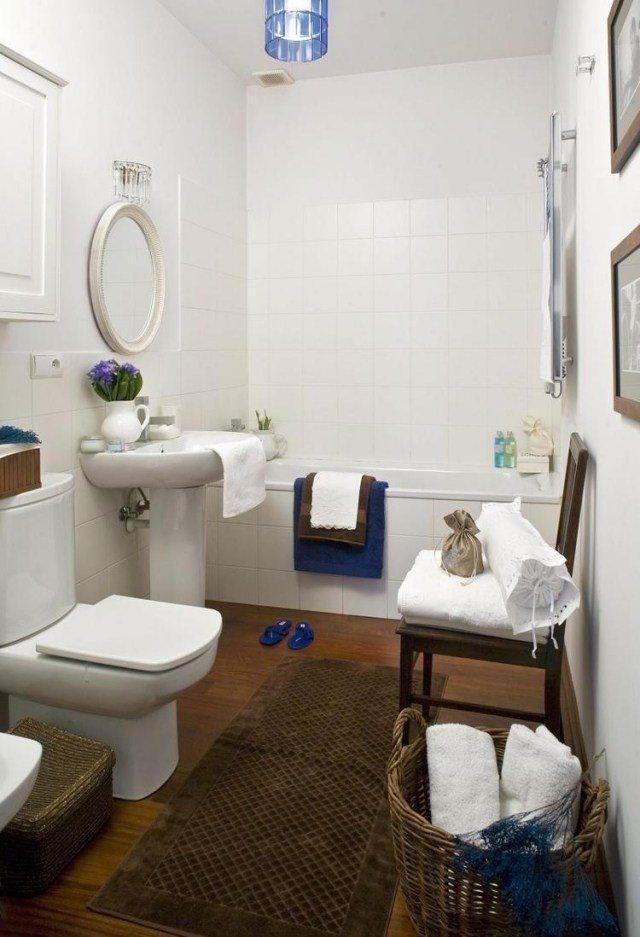 Carrelage salle de bain imitation bois \u2013 34 idées modernes Pinterest