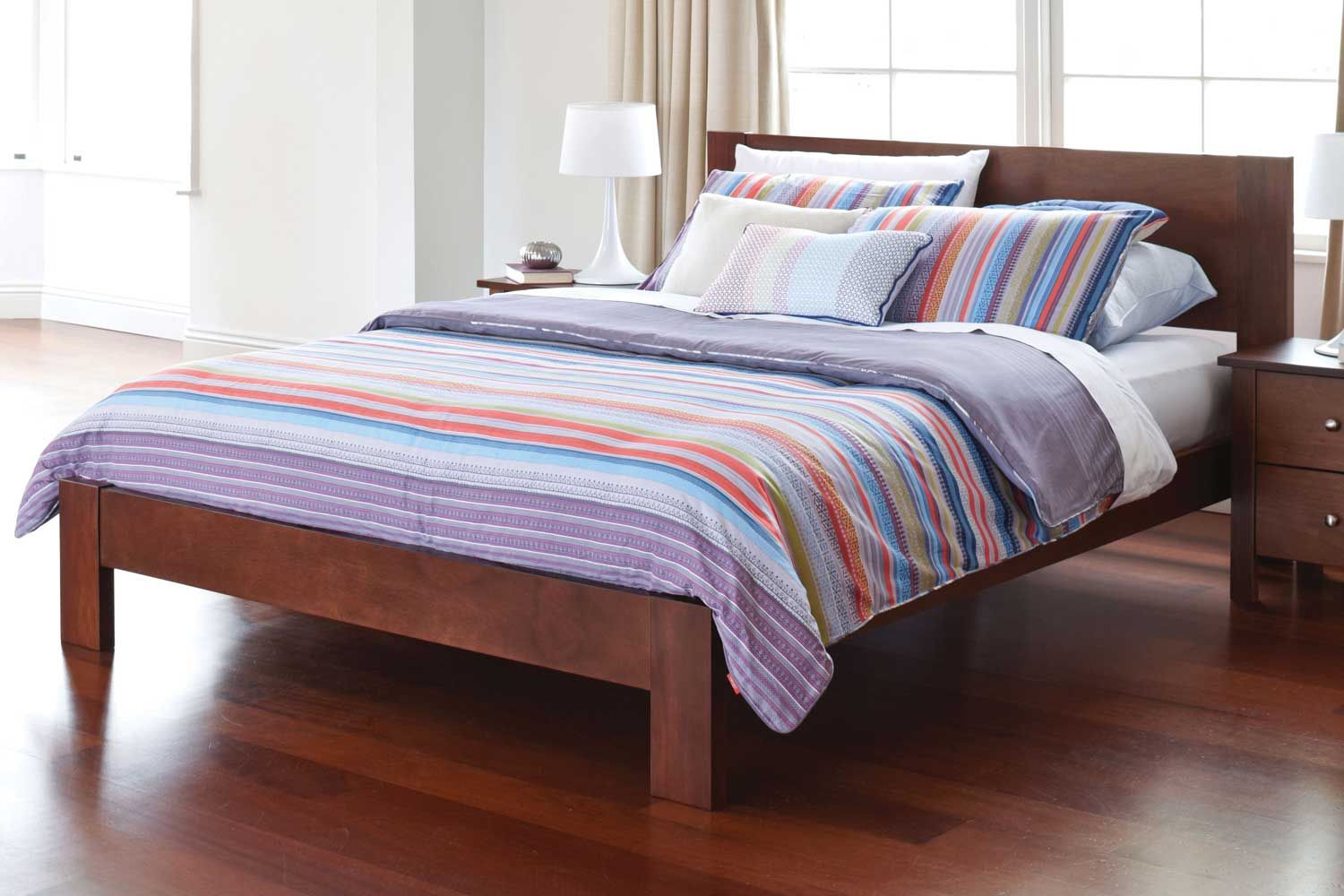 Accor Queen Bed Frame by Haus Mobel | Harvey Norman New Zealand ...