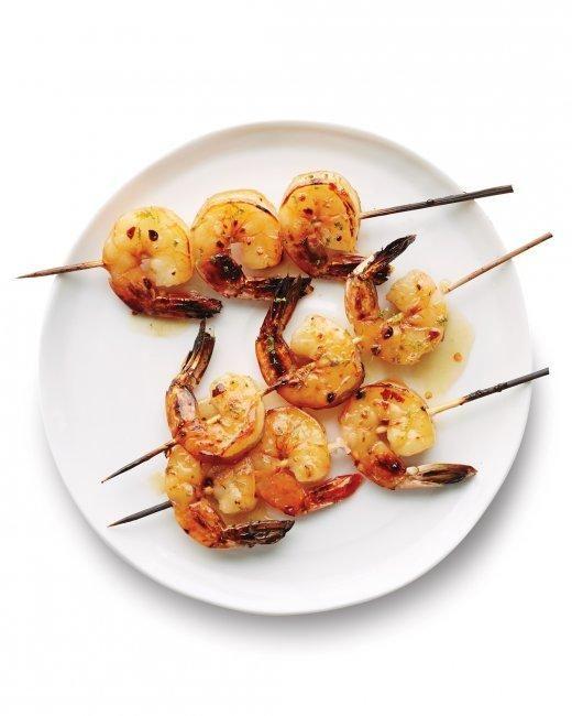 Lime-Glazed Shrimp Recipe