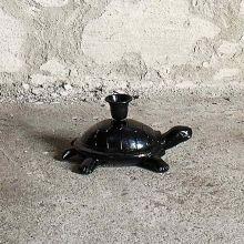 Kerzenständer Schildkröte schwarz von Nordal