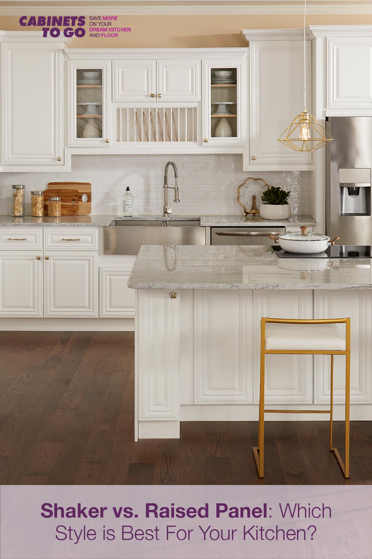 20++ Shaker panel kitchen cabinets model