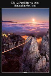 Photo of The Aj-Petri Bridge to Heaven in the Crimea .. | Funny pictures sayings jokes
