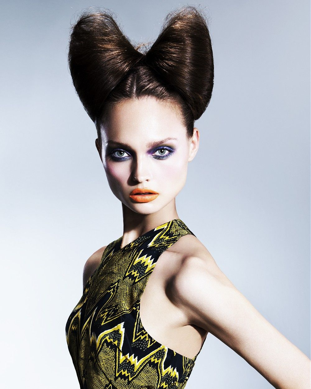 Large image of Long Brown straight hairstyles provided by Robert John. Picture Number 24603