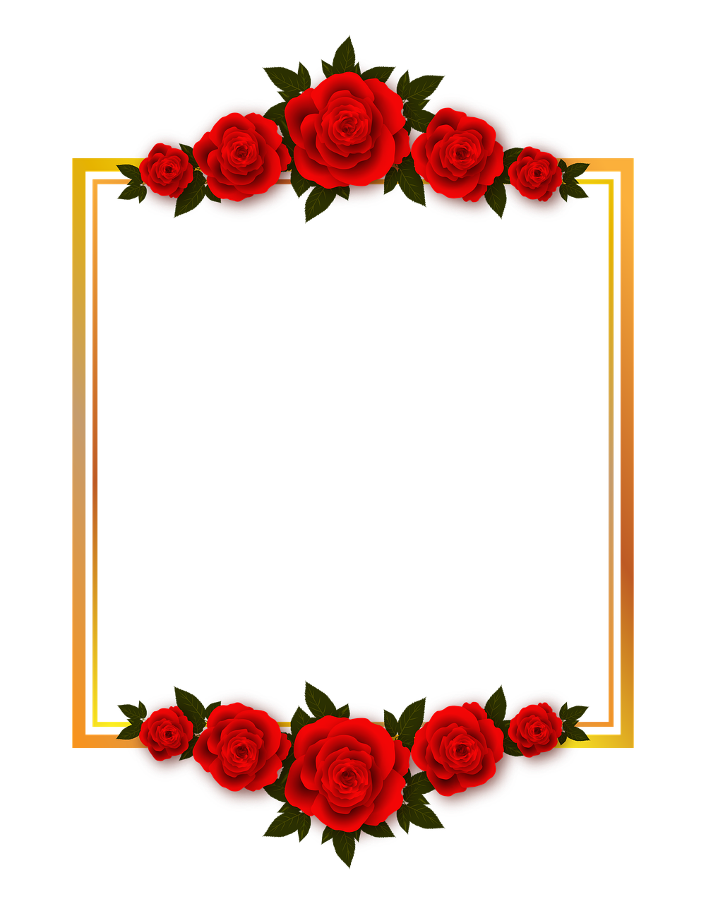 Vacation, Rose, Flowers, Plate, Frame, Photo Frame