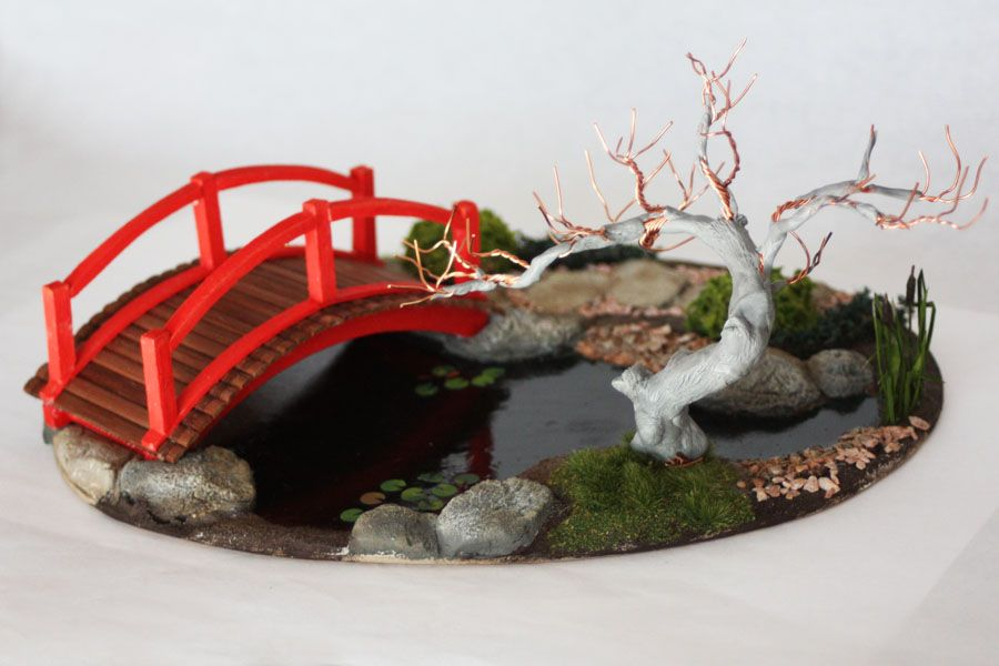 Japanese Frog Diorama Zen Garden Diy Japanese Garden Miniature