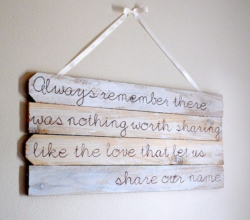 quotes on wall art decoration with typography and the use of reclaimed wood from fence design ideas fascinating reclaimed wood decoration in