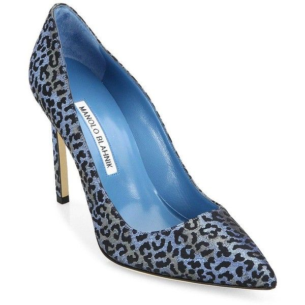 Manolo Blahnik Printed Pointed-Toe Pumps cheap tumblr buy cheap comfortable supply online yPDxUL2P