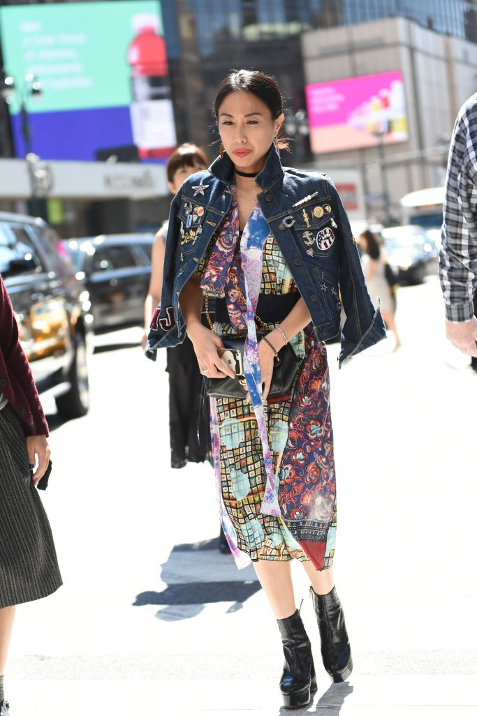☆New York Fashion Week street style