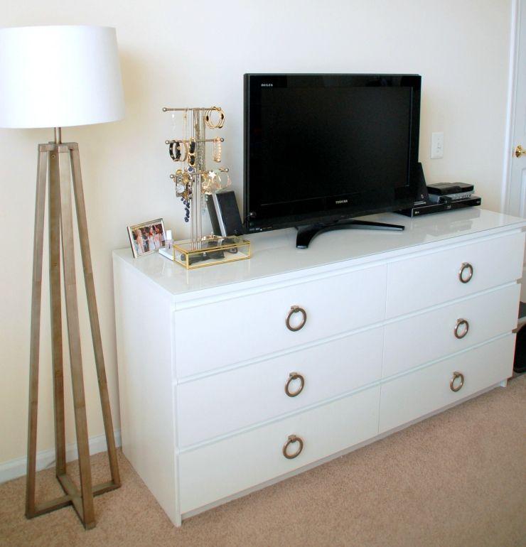 Ikea malm dresser hack diy pinterest deco rangement et ikea - Ikea chambre malm ...