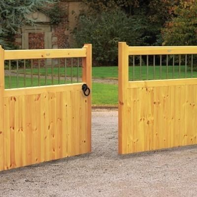 Wooden Driveway Gates Diy Automatic Gates Home Gate