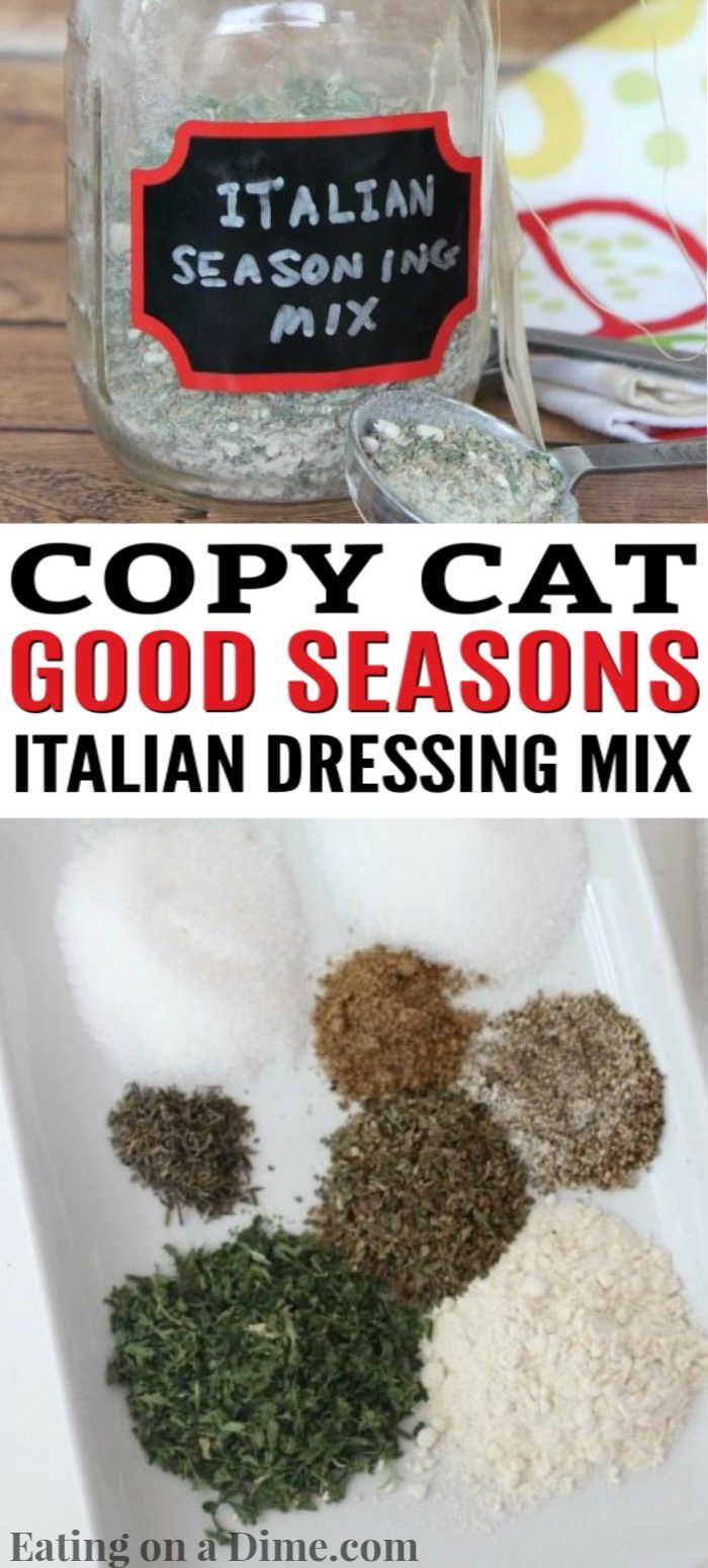 Good Seasons Italian Dressing Mix - Eating on a Dime
