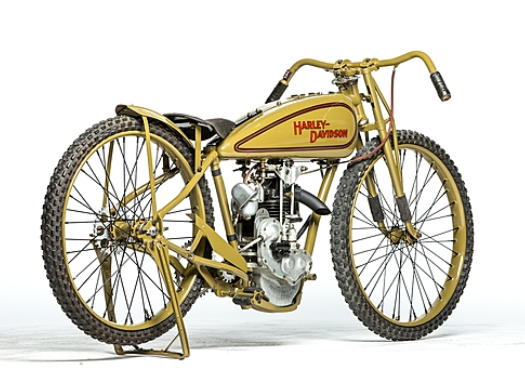 This 1928 Harley-Davidson OHV Peashooter (Lot S129) is estimated to fetch between $90,000 ...