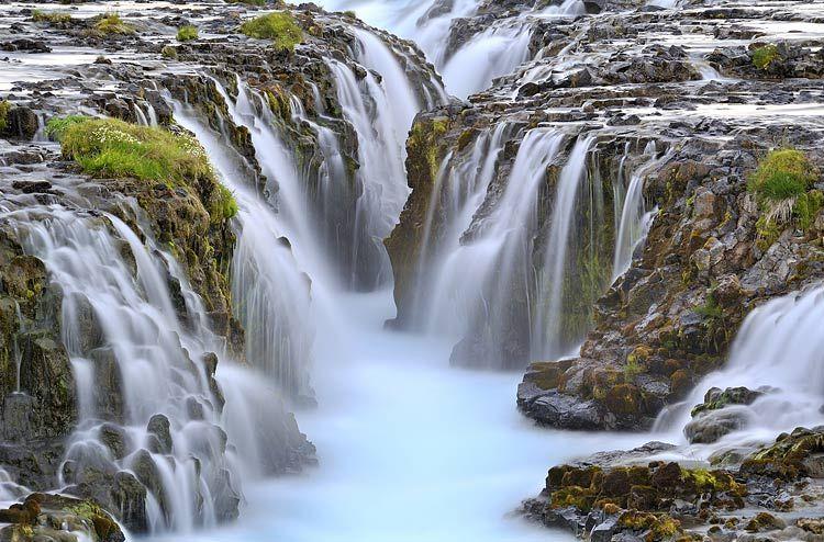 Stimmung am Wasserfall