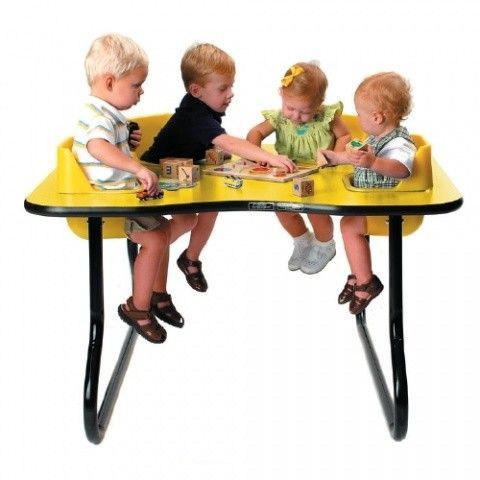 Mesa Fital 4 Niños 643 35 Mobelkids Toddler Table Daycare Furniture Table Activities For Toddlers