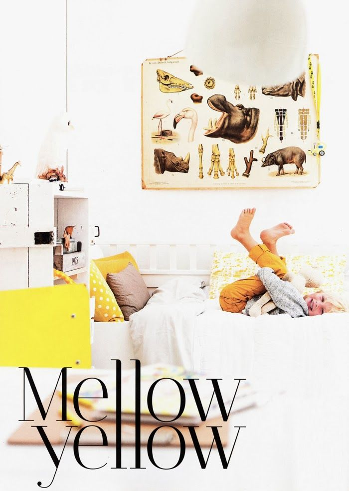 Trendy children habitaci n amarilla estilo vintage para ni o infantil pinterest - Habitacion estilo vintage ...