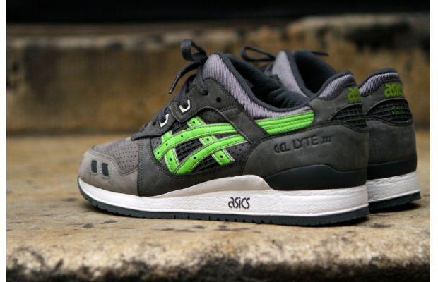 gel lyte iii super green