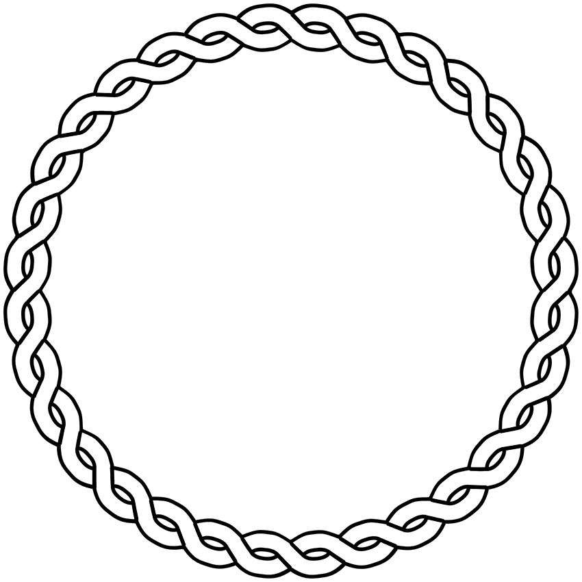 rope border circle rustic small wedding pinterest wedding rh pinterest co uk