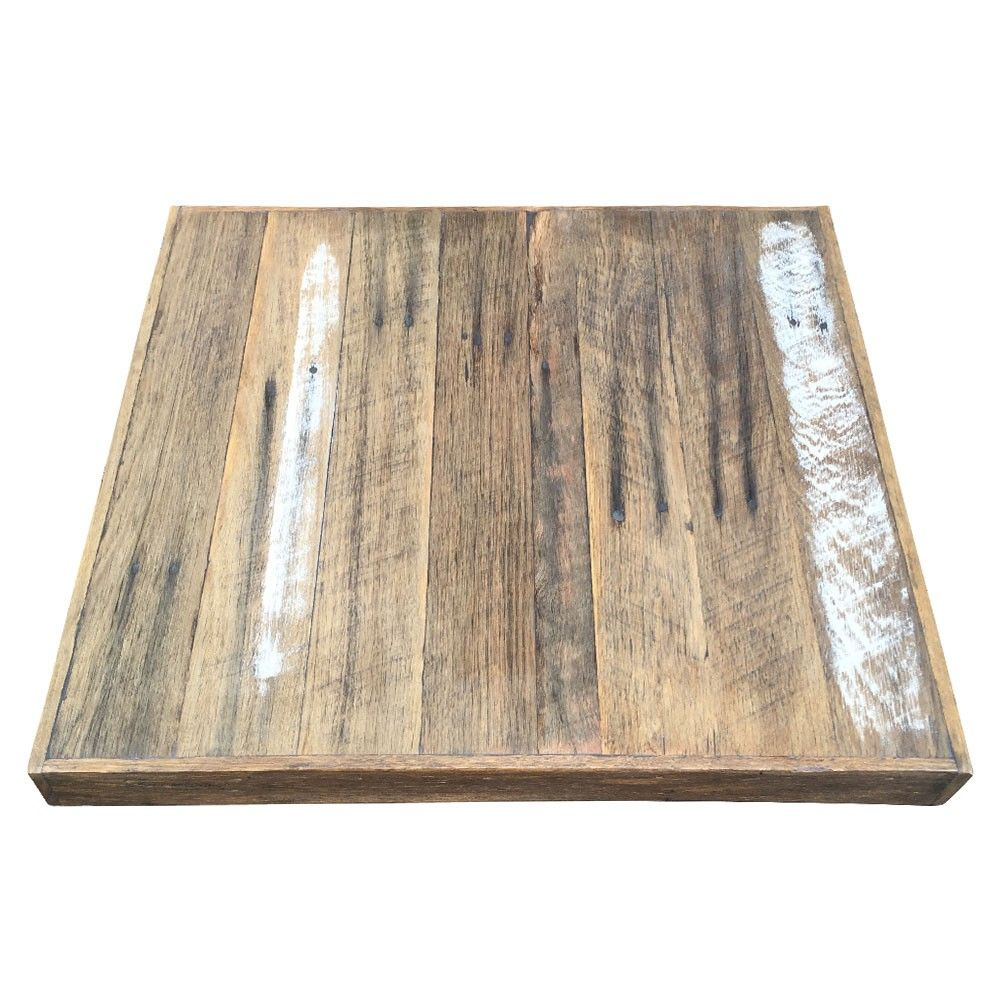 Handmade In Australia Using Old Recycled And Reclaimed Hardwood Timbers,  This Modern Industrial Cafe Table Is A Timeless Classic. This Table Top Can  Be ...