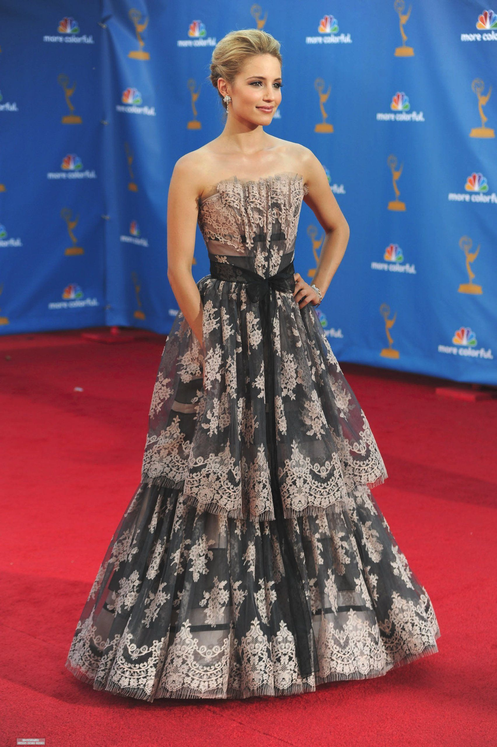 Dianna agron wedding dress  Dianna Agron  Emmyus   Celebrity Style   Pinterest