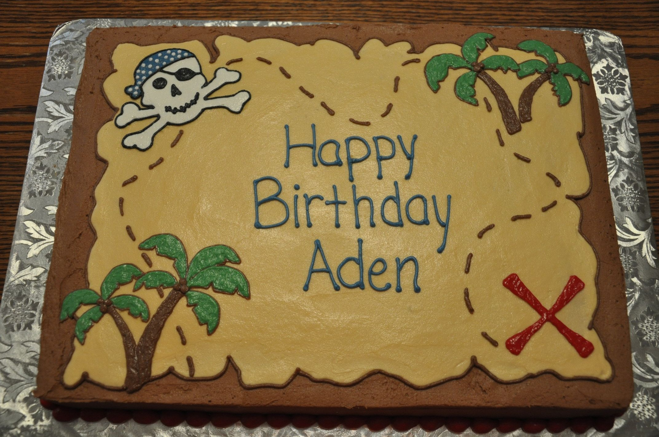 Treasure Map Cake Isaacs Birthday In 2018 Pinterest Treasure