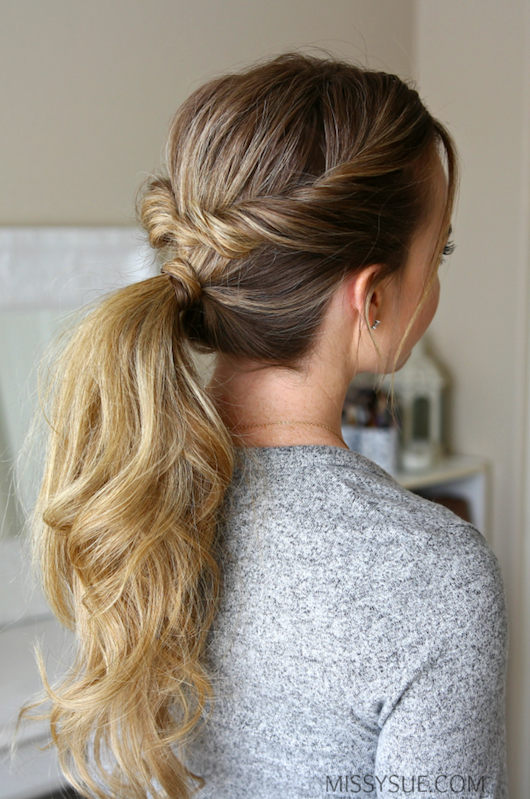 9 Beautiful And Easy Hairstyles That Travel With You Twist Ponytail Hair Styles Back To School Hairstyles