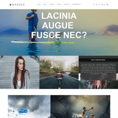 Mes Is A Free Society Websites Templates This Themed Multipurpose Template