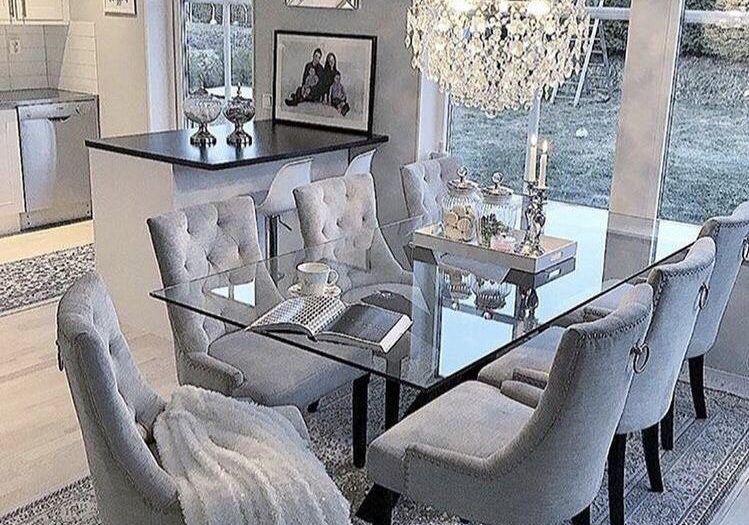 Youtube Zakia Chanell Pinterest Elchocolategirl Instagram Elchocolategirl S Dining Room Cozy Family Dining Rooms Dining Room Table Decor