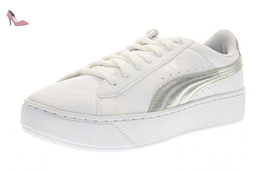 Chaussures Vans Old Skool jaunes Casual femme  37 EU Chaussures Puma Liga blanches Casual unisexe Chaussures Puma Liga blanches Casual unisexe Pleaser Sexy-15 Chaussures Luciano Barachini noires B7jVy3NPO