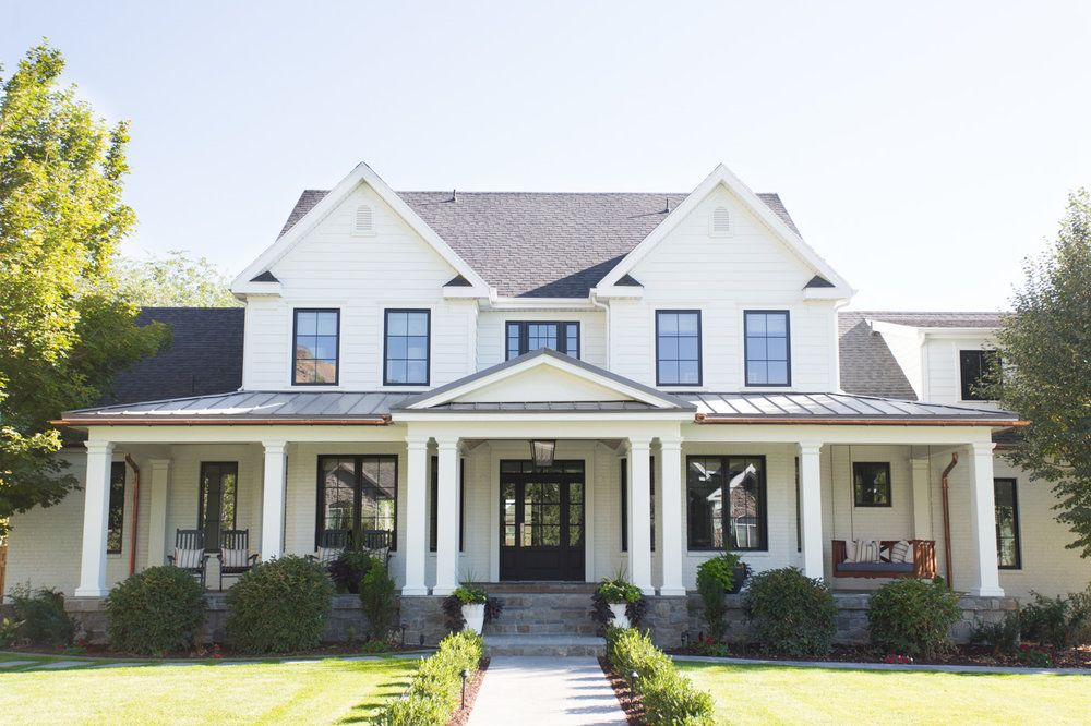 Best Wednesday Watch List Modern Farmhouse Exterior House 400 x 300