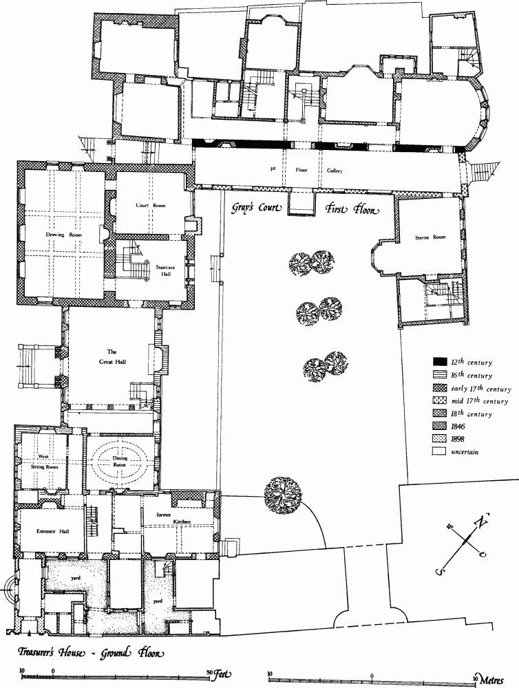 The Treasurers House and Grays Court – Knole House Floor Plan