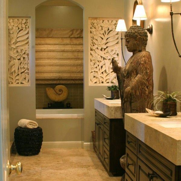 ideen für badezimmer-asiatischen stil (1) | Bad | Zen ...