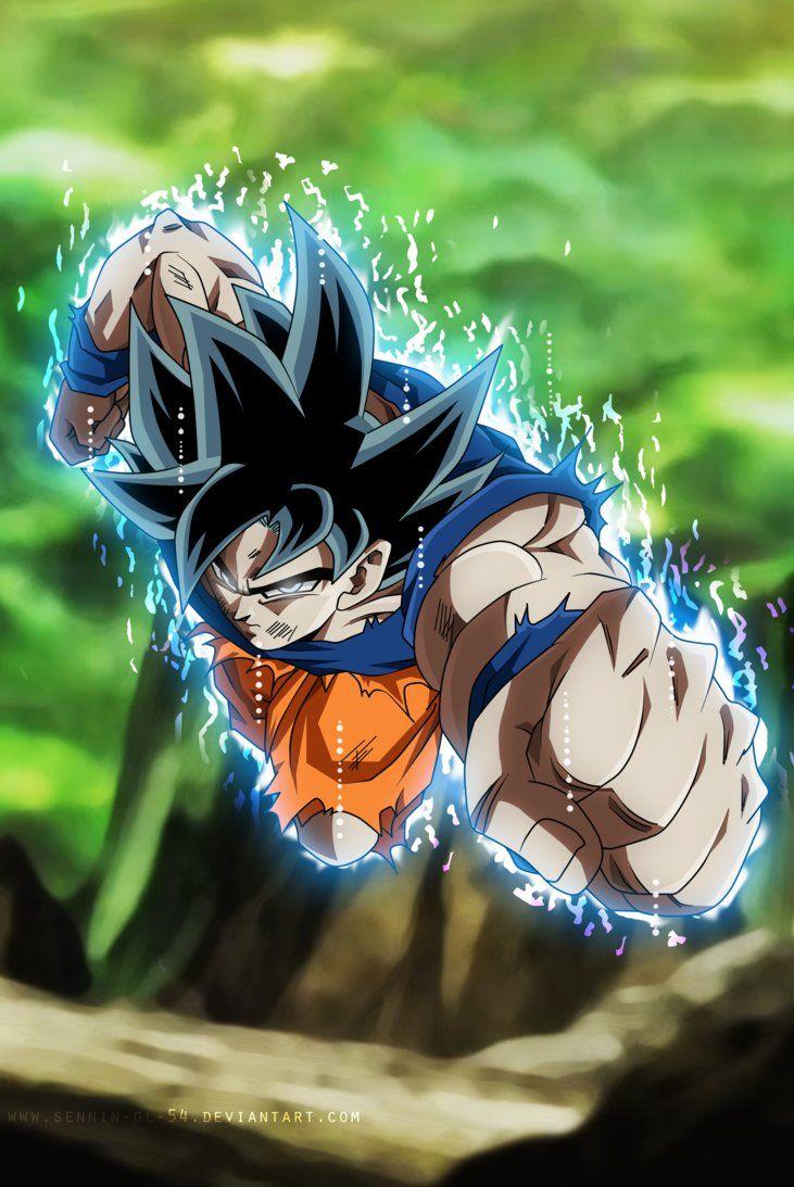 Goku Instinto Superior Dragon Ball Art Dragon Ball Wallpapers Dragon Ball Goku
