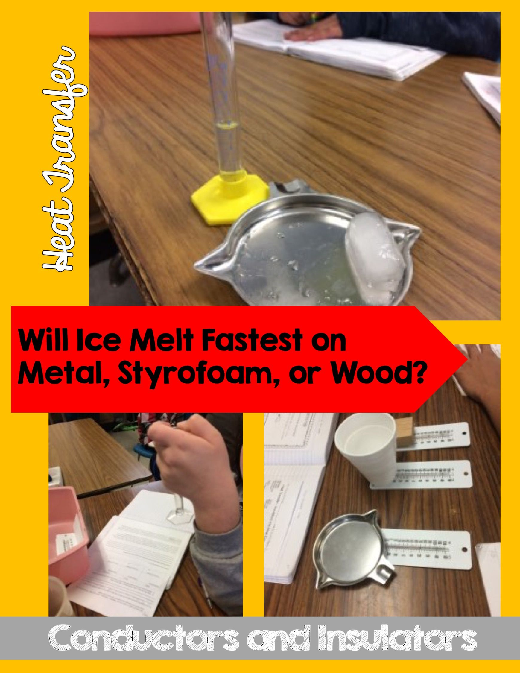 Heat Transfer Experiment Thermal Conduction And Insulation