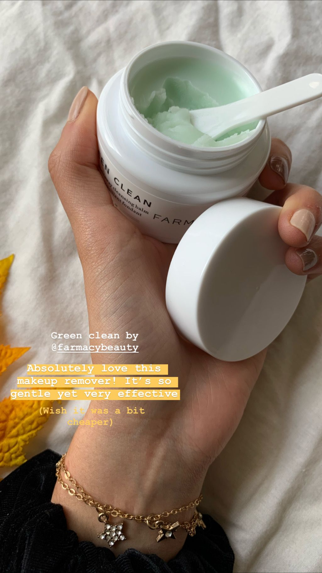 REVIEW // Green Clean Makeup Removing Cleansing Balm by
