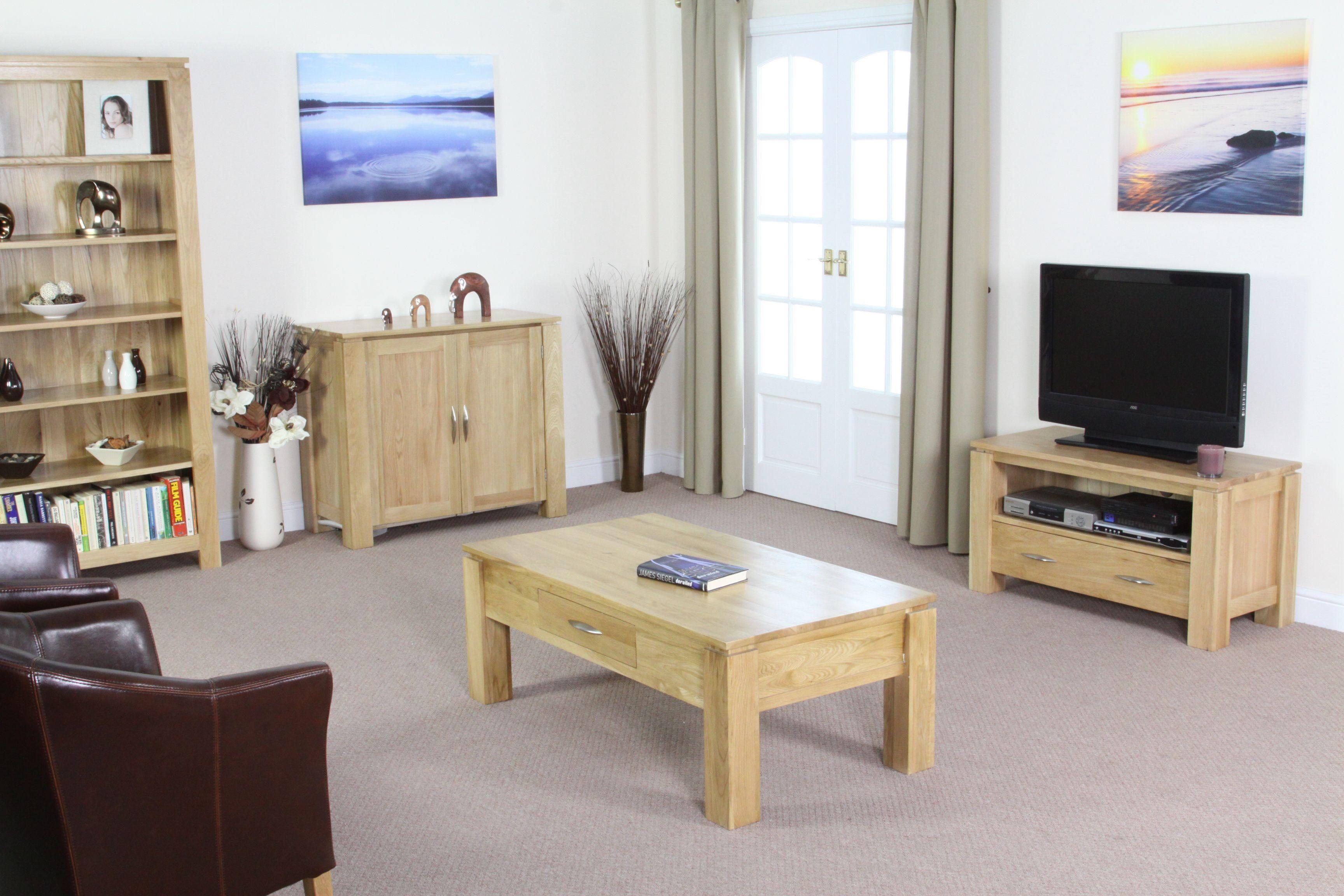 marvellous solid oak living room furniture | Galway Solid Oak Funiture Range Oak Living Room Furniture ...