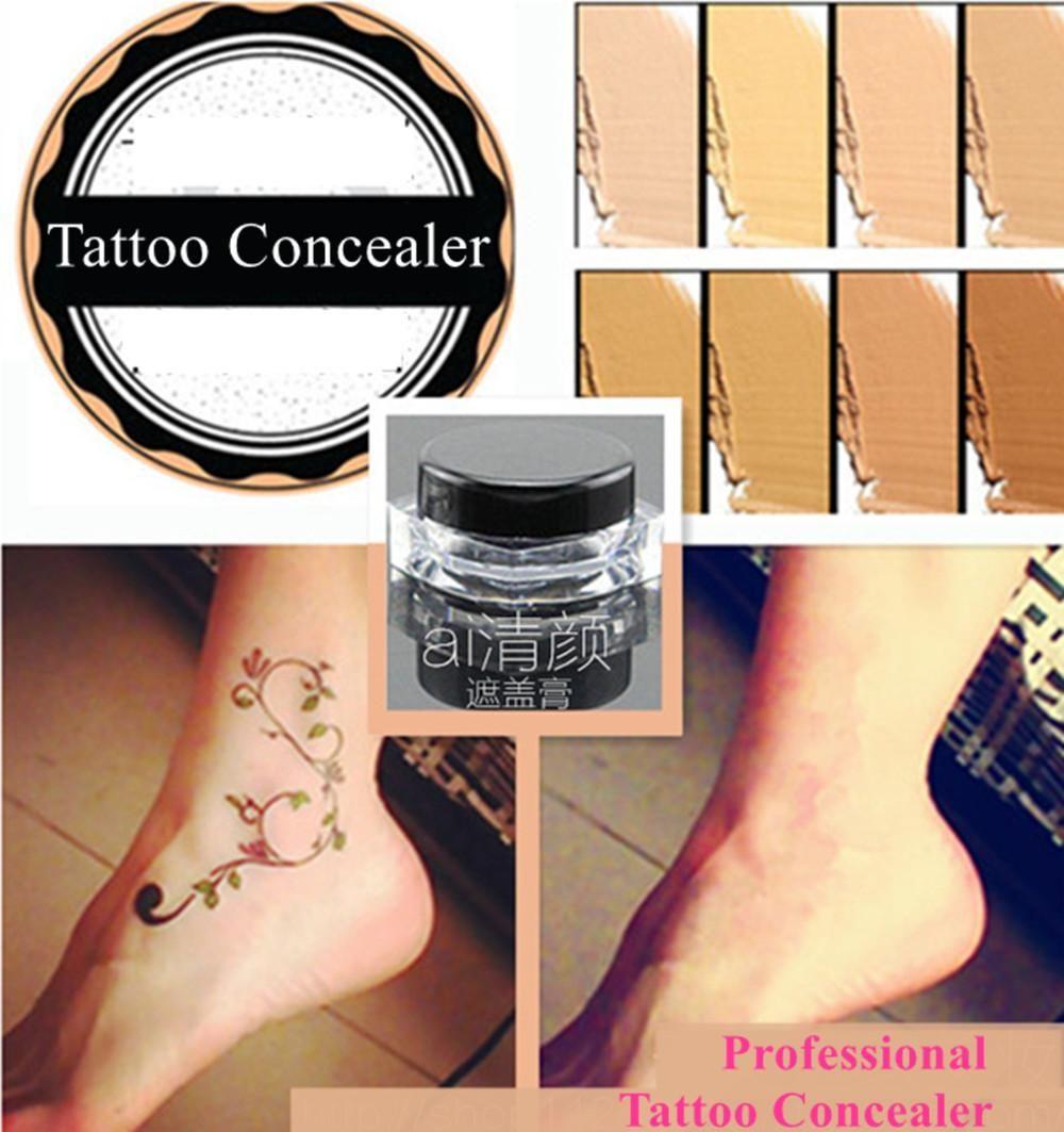 [Visit to Buy] Waterproof Concealer for Tattoo Acne Scar