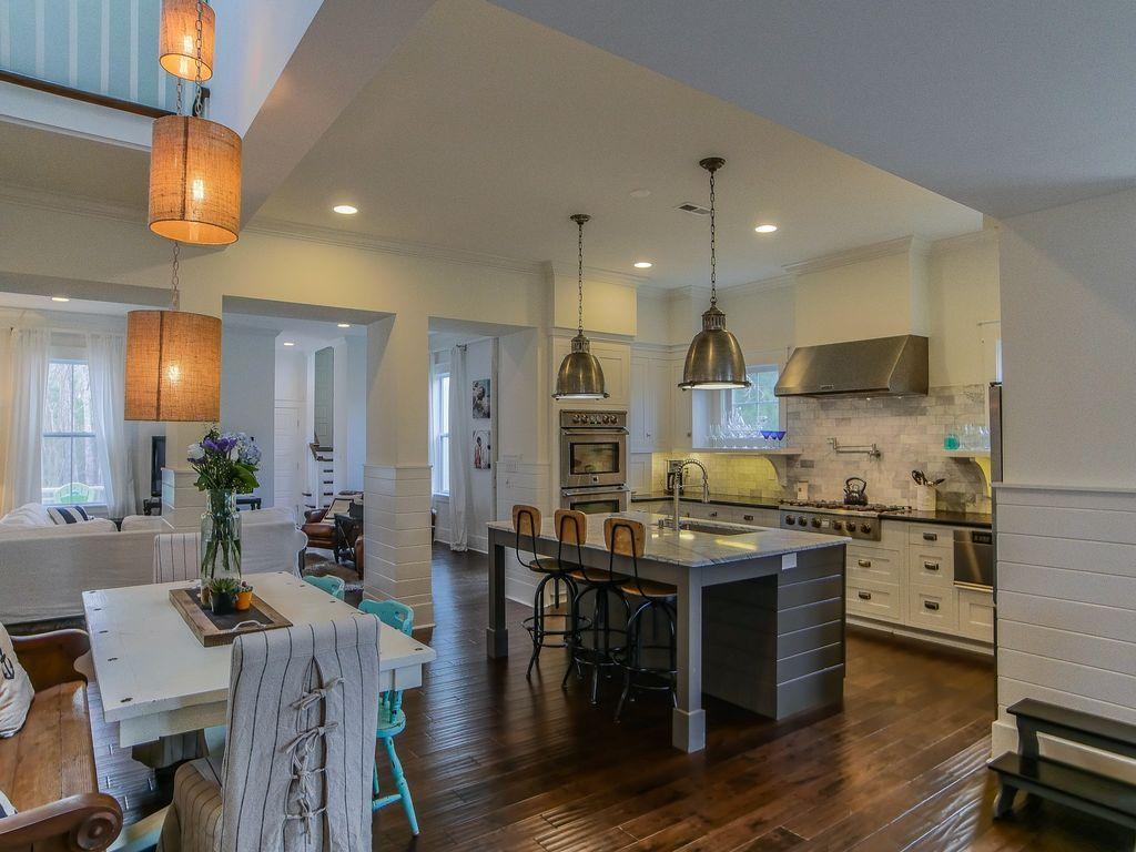 Eclectic kitchen with pendant light hardwood floors undermount eclectic kitchen with pendant light hardwood floors undermount sink benson pendant 2 aloadofball Images