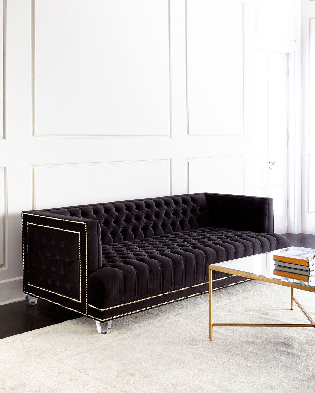 Haute House Grace Tufted Sofa | Design Style: Modern Twist ...