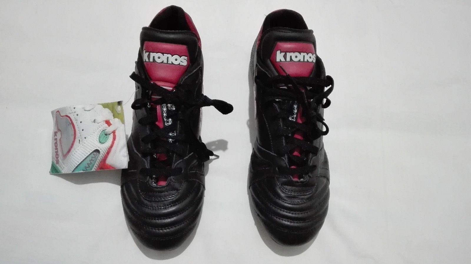 KRONOS Roberto Mancini signed 90's vintage soccer boots