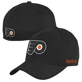 save off e01c0 9c132 Get this Philadelphia Flyers Black Structured Flex Fit Cap at  PhillyTeamStore.com