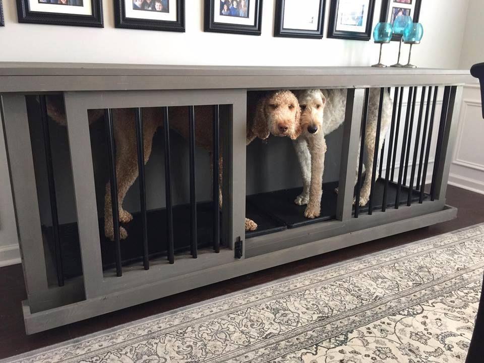 Custom Dog Kennel Craft Custom Wood Practical Furniture