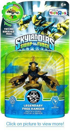 Skylanders Swap Force Character Legendary Free Ranger Skylanders Swap Force Skylanders Skylanders Swap Force Characters